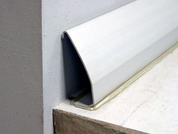 Baseboard Basement Drain Pipe System In Greater Green Bay