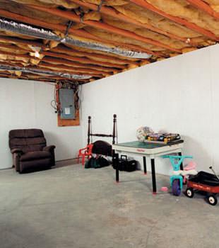 basement wall covering in green bay appleton oshkosh wet basement